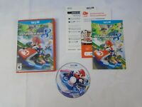 Mario Kart 8 Nintendo Wii U Tested Guaranteed Case Cover Art Manual Game Disc
