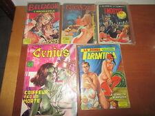 Lotto  Fumetti Genius-Belfagor-Lucrezia- La donna Tarantola