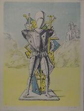 Lithography Lithographie Litografia  GIORGIO DE CHIRICO  1972 Prova d'Artista