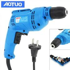 220V 450W Adjustable Electric Drill with Hanging Design and 3/8 Inch Chuck