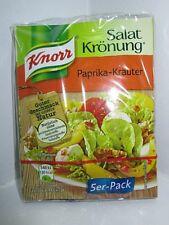 8 x 5er Pck KNORR Paprika-Kräuter (Paprika Herbs Salad Dressing) MSG Free New