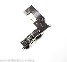 Apple iPhone 5s Dock Connector USB Charger Flex Anschluss Ladebuchse Schwarz