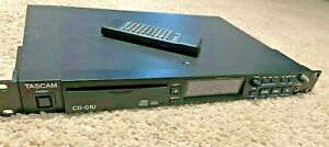 Tascam CD-01U Pro - Professional CD Player - Rack Mount With Remote Control
