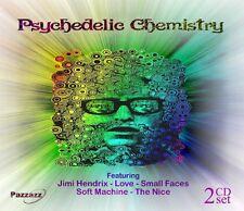 PSYCHEDELIC CHEMISTRY Santana,The Soft Machine,Jimi Hendrix 2 CD NEW!