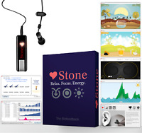 Biofeedback Device, Software and Games - Stone Pro Equipment For Anxiety, Stress