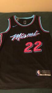 NBA jersey mens miami heat jimmy butler FREE SHIPPING