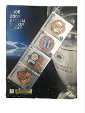 Panini Champions League 2008-2009 Complete sticker Album + Free Album
