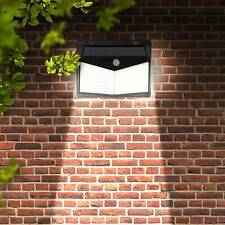 208 LED Solar Powered PIR Motion Sensor Light Garden Outdoor Security Wall Light