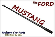 "FITS:1979-2009 Ford Mustang - 13"" SHORT Custom Flexible Rubber Antenna Mast"