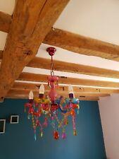 Mini Modern Multi Coloured Ceiling Light Chandelier Gypsy Style Home Lighting