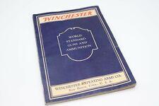 Winchester World Standard Guns & Ammunition - July 1932