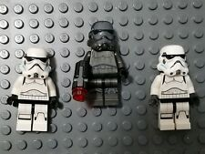 LEGO Star Wars Minifigures Stormtrooper and Shadowtrooper Lot of 3
