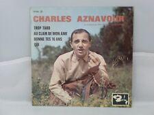 Charles Aznavour – Trop Tard                      Barclay – 70519