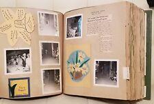 Vintage Epsilon Sigma Alpha Sorority Scrapbook Arkansas 1967-1968