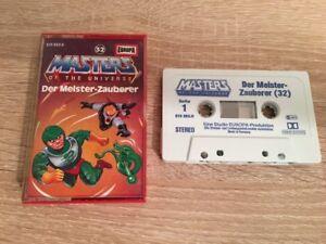 MC EUROPA Hörspiel Kassette He-Man Masters of the Universe Folge 32 *1A Top Zust