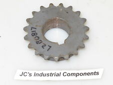 """Sprocket   35 pitch   19 tooth   1"""" bore   Browning  3519 1"""