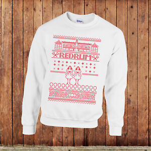 the shining christmas jumper, Stephen King, Stanley Kubrick, Horror movie shirt.