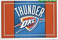 279 TEAM LOGO USA OKLAHOMA CITY THUNDER STICKER NBA BASKETBALL 2017 PANINI