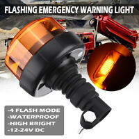 30LED Ambra Allarme Luce Strobo Recupero Auto Lampeggiante Faro Luce 12V-24V