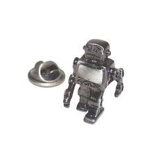 Finitura metallica ROBOT bavero pin badge professor CLUB EMBLEMA regalo di compleanno