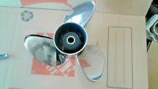 OMC Cobra Evinrude Johnson Viper Stainless Steel boat propeller 14.75LH 19 Splin