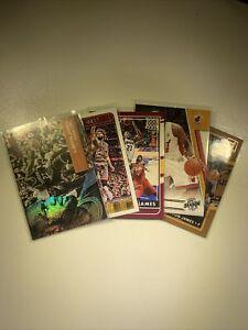 Lebron James Basketball Card Lot