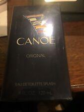 Canoe Cologne by Dana, 4 oz EDT Splash for Men