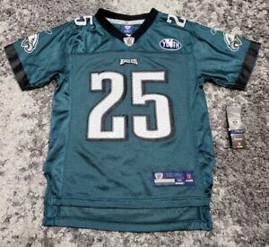LeSean McCoy Philadelphia Eagles NFL Football Jersey Reebok Youth Kids M 10-12