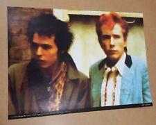 Sid Vicious Johnny Rotten print poster urban art