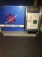 2015 Aaron Rodgers National Tresures Auto Plate 1/1 BGS 9.5 10 ON CARD