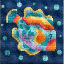 Alice Peterson Canoodles Mini Needlepoint Kit - Fish