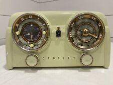 Crosley D25Ce Chartreuse 1950's Dashboard Radio Original Working
