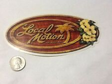 This Vintage Local Motion Surfing Sticker Decal