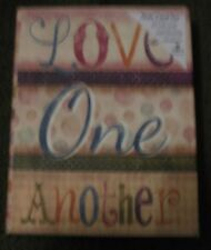 Set of 13 Legacy Blank Note Cards - Love One Another (Bc2)