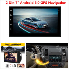 "7"" 2DIN Android 4-Core WIFI Bluetooth Car Stereo Radio MP5 Player GPS Navigation"