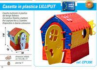 casetta per bambini casa delle favole da giardino in plastica per 2 bambini
