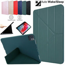 "Case For iPad Pro 11"" 2020 Slim Auto-Wake/Sleep Leather Flip Folding Stand Cover"