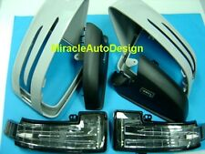 ARROW LED UNPAINTED DOOR MIRROR COVERS FOR 2012-2017 MERCEDES W166 ML & X166 GL