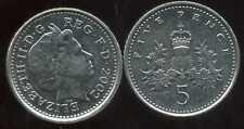 ROYAUME UNI   five   5  pence  2002  ( bis )