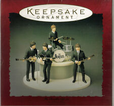Beatles Hallmark Ornaments Set from 1994 in the original Keepsake Ornament Box
