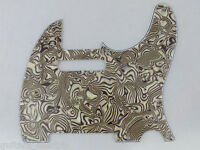 ABALONE SHELL SCRATCH PLATE Pickguard to fit USA/Mex TELECASTER Tele guitar