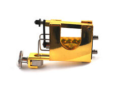 Gold Rotary Tattoo Machine Gun Shader Liner UK Seller
