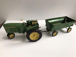 Vintage Ertl John Deere Tractor and Wagon