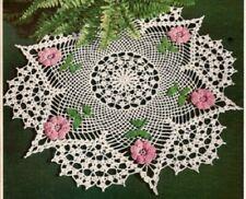 Vintage Crochet Centerpiece Doily #6 Pattern Only