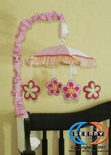 Musical Mobile For Baby Girl Dragonfly  Bedding Set