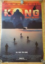 AUTHENTIC KONG RETURN TO SKULL ISLAND D/S UNUSED ORIGINAL 27x40 Movie Poster