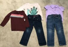 Girls 3T. 2 Jeans And 3 Shirts. The Childrens Place Jeans. Gymboree.