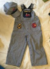 EUC Gymboree Train Conductor Costume - Size 2T-3T - Halloween, Playtime, Anytime