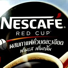 Aromatic Nescafe Red Cup Instant Coffee Mixed with Finely Ground Roasted Coffee