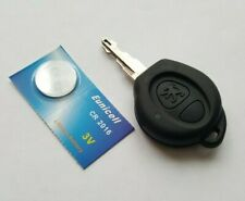 PEUGEOT 106 206 2 BUTTON ALARM REMOTE KEY FOB  S108231Dno-BOT #75